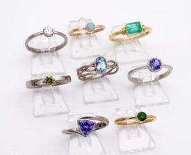 Edelstein Verlobungsring auswaehlen diamant brillant smaragd saphir